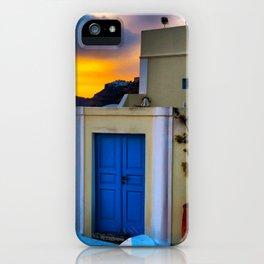 Santorini 27 iPhone Case