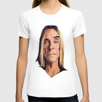 iggy T-shirts featuring Mr. Iggy Pop by Viktor Miller Gausa
