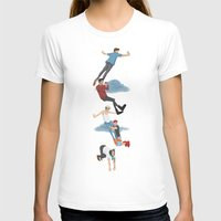 neverland T-shirts featuring Off To Neverland by Ashley R. Guillory