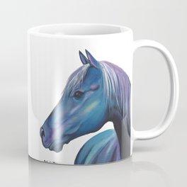 Blue Horse Coffee Mug