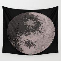 ying yang Wall Tapestries featuring Ying Yang by Meg Gerena