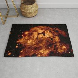 Cosmic Leo Lion Rug