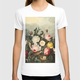 Pink  Red Floral : New Illustration Of The Sexual System T-shirt