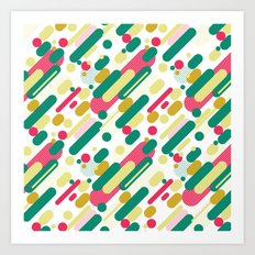 Bubble Pop Anza Evergreen Art Print