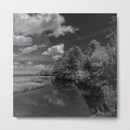 The river by Jean-François Dupuis Metal Print