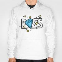 boss Hoodies featuring Boss by DeMoose_Art