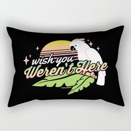 Wish You Weren't Here Rectangular Pillow
