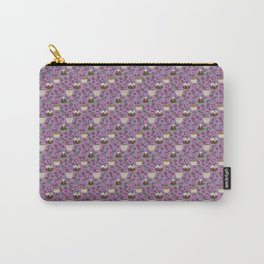 Figgy Plum Pudding Christmas Dessert Purple Repeat Carry-All Pouch