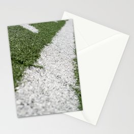 Football Lines Stationery Cards