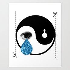 Tearz Art Print