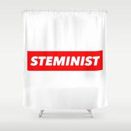 Steminist Shower Curtain
