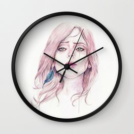 You're Pretty When You Cry Wall Clock