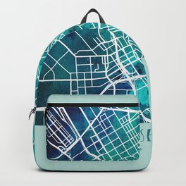 San Jose City Map Backpack
