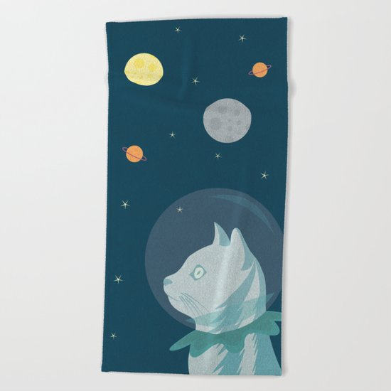 Dreaming about the Space Beach Towel