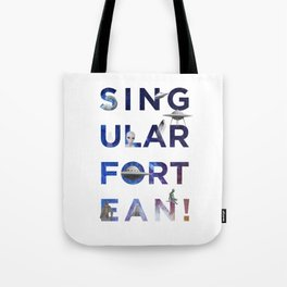 The Universe of Singular Fortean Tote Bag