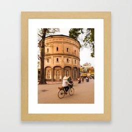 Hanoi Water Tower, Vietnam Framed Art Print