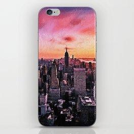 New York at Night iPhone Skin