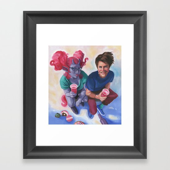 The Contract Framed Art Print