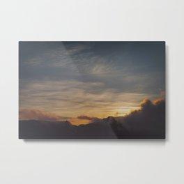 Faded sunset Metal Print