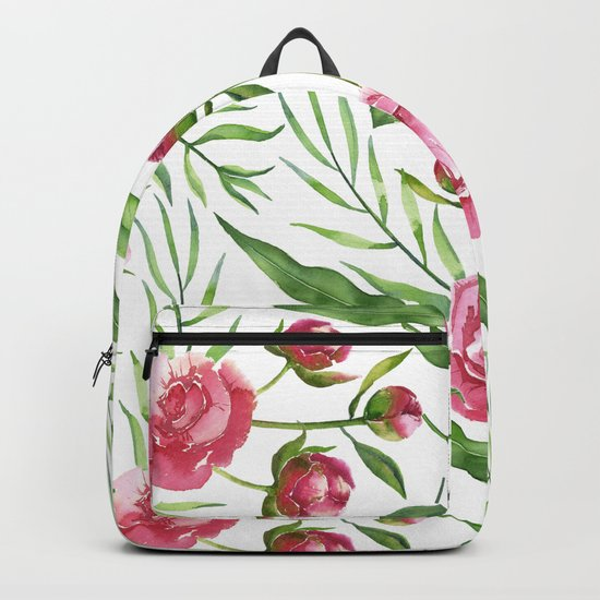 Wild Roses Backpack