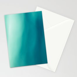 The colors of the deep ocean Stationery Cards