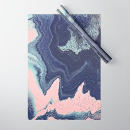 Fluid No. 11 - Geode Wrapping Paper