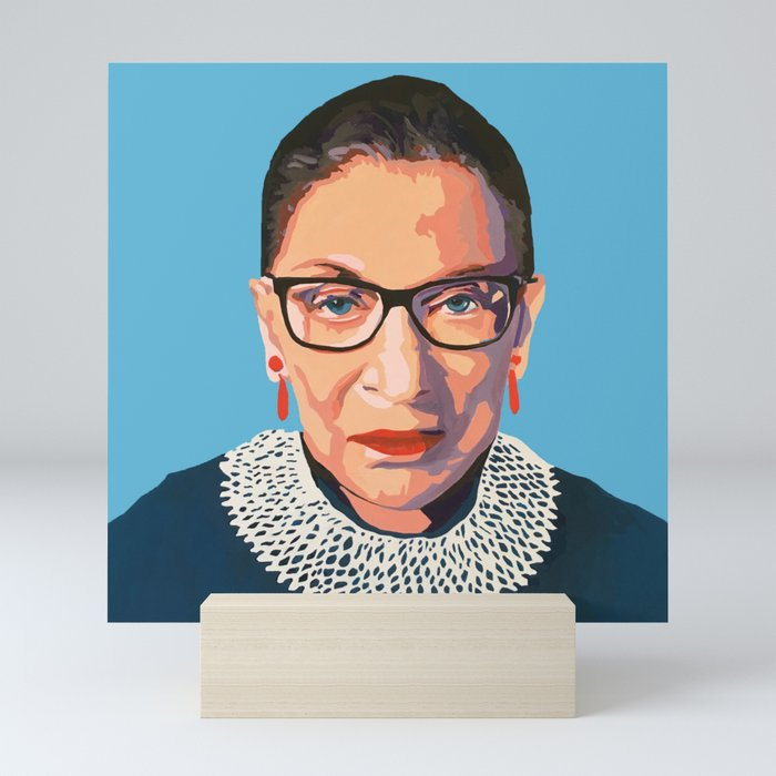 stone cold RBG Mini Art Print