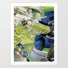 Over the Palace Art Print