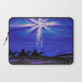 Three WiseMen Journey To Bethlehem Laptop Sleeve
