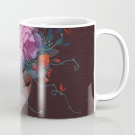 Crown of Peonies Coffee Mug