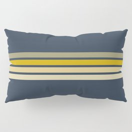 Racing Retro Stripes Pillow Sham