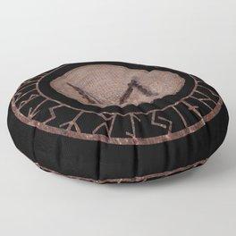 Dagaz - Elder Futhark rune Floor Pillow