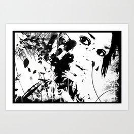 Hide & Hide Art Print