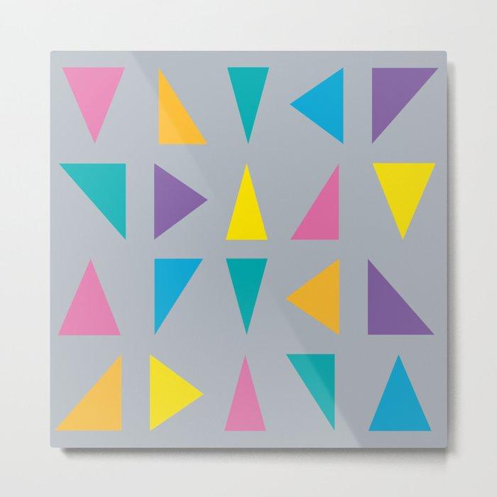 Colorful Corners Metal Print