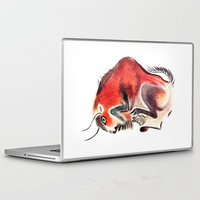 bull Laptop & iPad Skins featuring bull by siloto