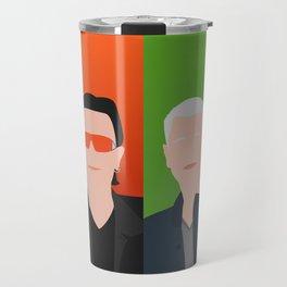 U 2 - Bono, the Edge, Adam Clayton, Larry Mullen Jr Travel Mug