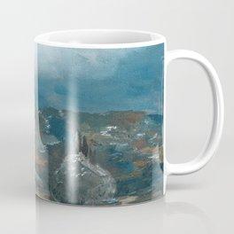 Storm brewing over rural landscape Coffee Mug