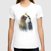 queen T-shirts featuring queen by tatiana-teni