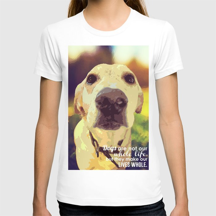 Yellow Lab (Dog) T-shirt