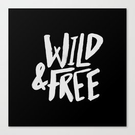 Wild and Free II Canvas Print