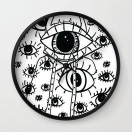 Eye Am Eye Am Eye Am Wall Clock