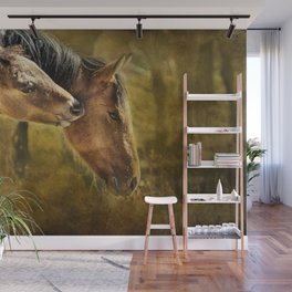Horsing Around No. 2 - Pryor Mustangs Wall Mural