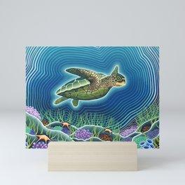 Honu Mini Art Print