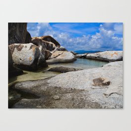 Virgin Gorda Baths Canvas Print