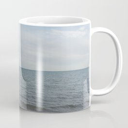 and the waves rolled in Coffee Mug