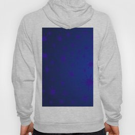 blue spots on blue background Hoody