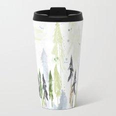 Into the woods woodland scene Travel Mug