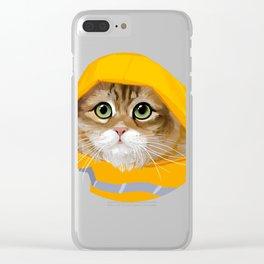 Bobby Joe's Rainy Day Clear iPhone Case