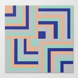 Four Squared Canvas Print
