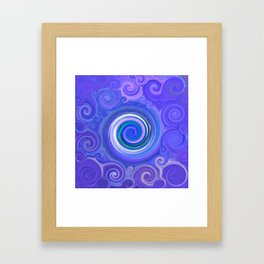 Abstract Mandala 269 Framed Art Print